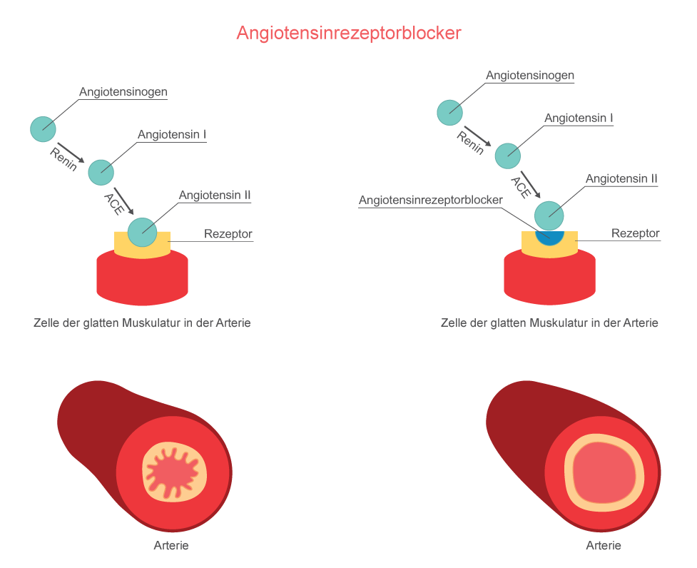 Wirkungsweise Angiontensinrezeptorblocker