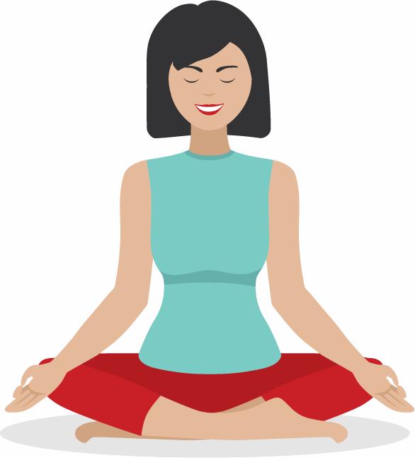 Yoga entspannt den Blutdruck